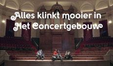Concert gebouw – Alles klinkt beter
