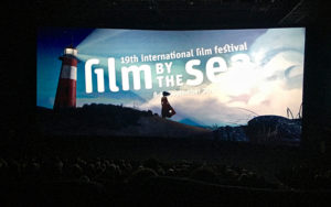 'In Blue' is shown during the opening gala of Film by the sea.