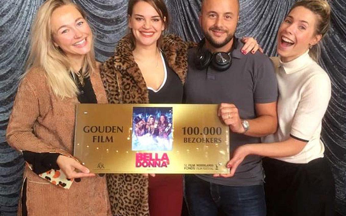 Bella Donna's reaches 100.000 visitors – Gouden Film