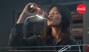 Finished new commercial Coca Cola