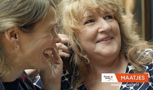 Oranje Fonds – Maatjes Campagne