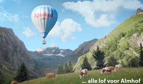 Almhof – Luchtballon